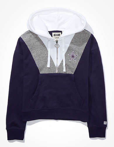 Tailgate Women's Dallas Cowboys Half-Zip Hoodie
