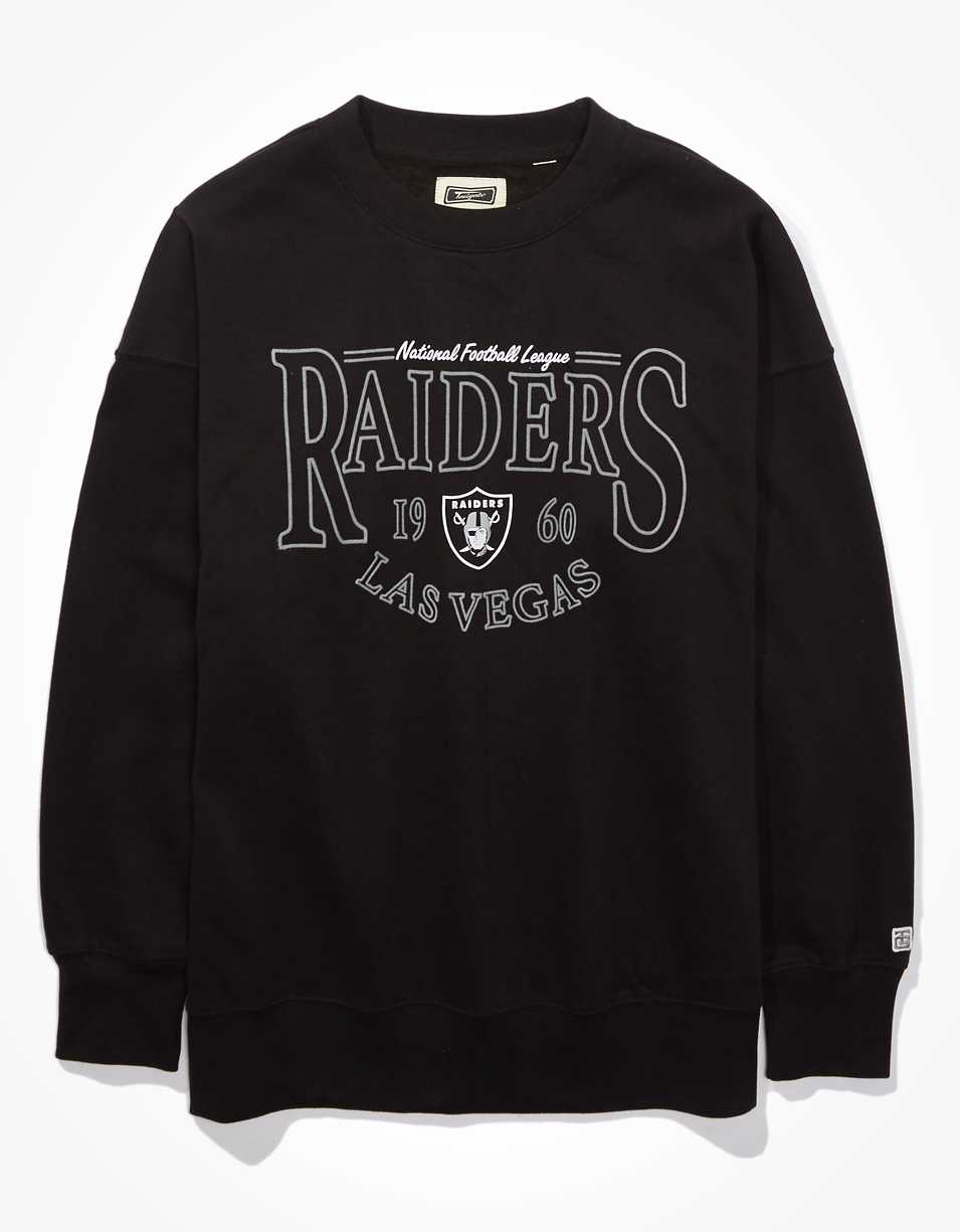 Tailgate Women's Las Vegas Raiders Oversized Fleece Sweatshirt