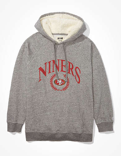 Tailgate Women's San Francisco 49ers Sherpa Lined Hoodie