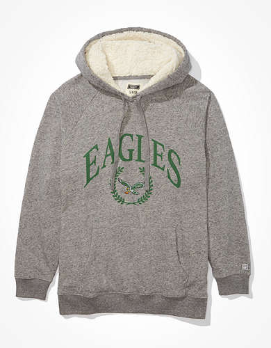Tailgate Women's Philadelphia Eagles Sherpa Lined Hoodie
