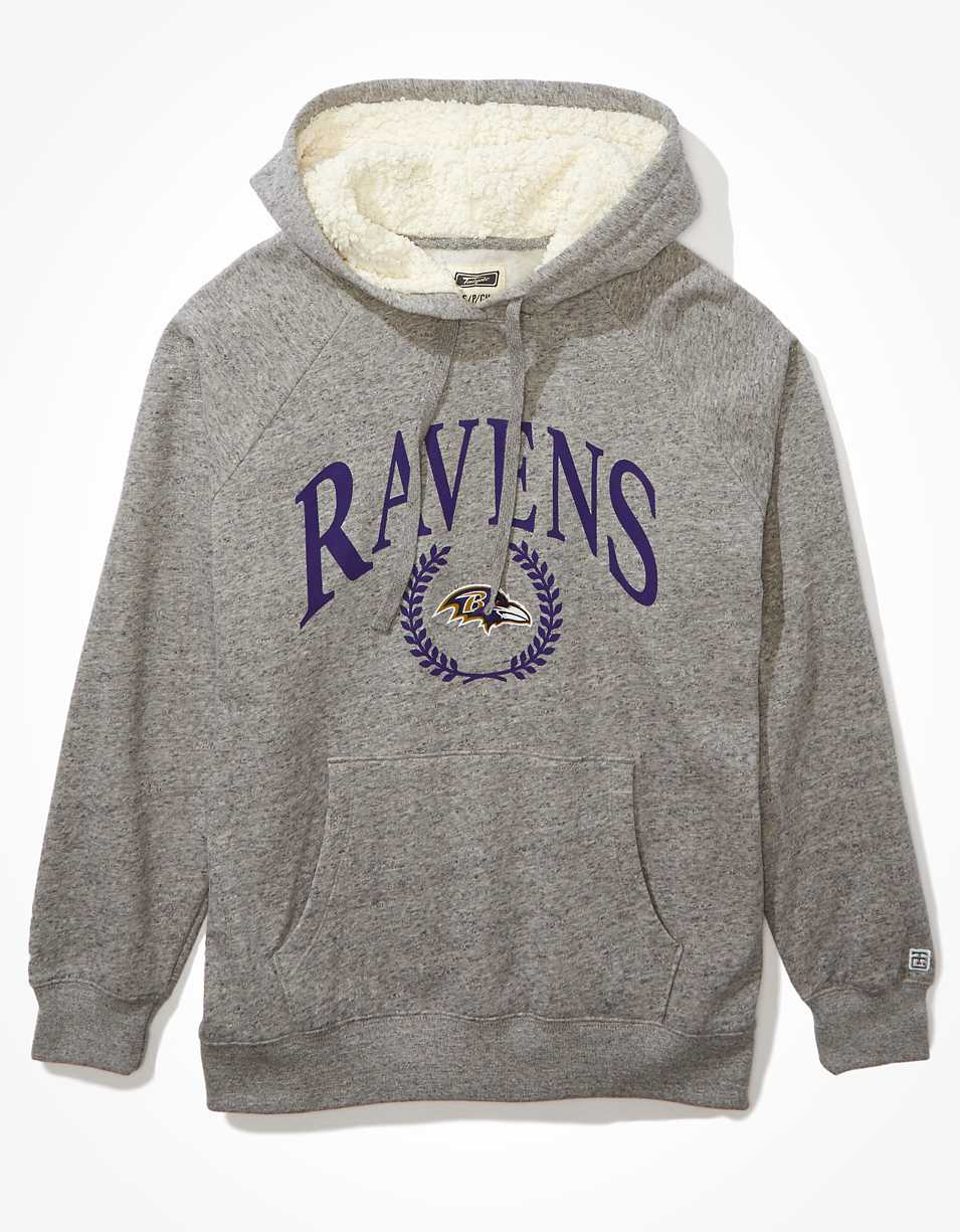 Tailgate Women's Baltimore Ravens Sherpa Lined Hoodie