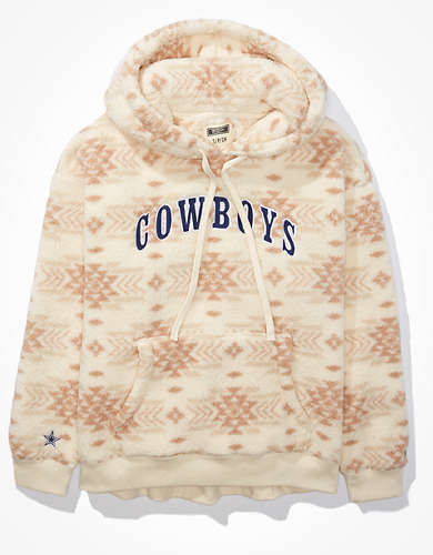 Tailgate Women's Dallas Cowboys Cozy Sherpa Hoodie