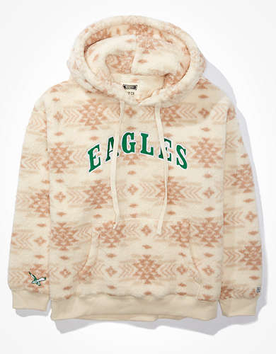 Tailgate Women's Philadelphia Eagles Cozy Sherpa Hoodie