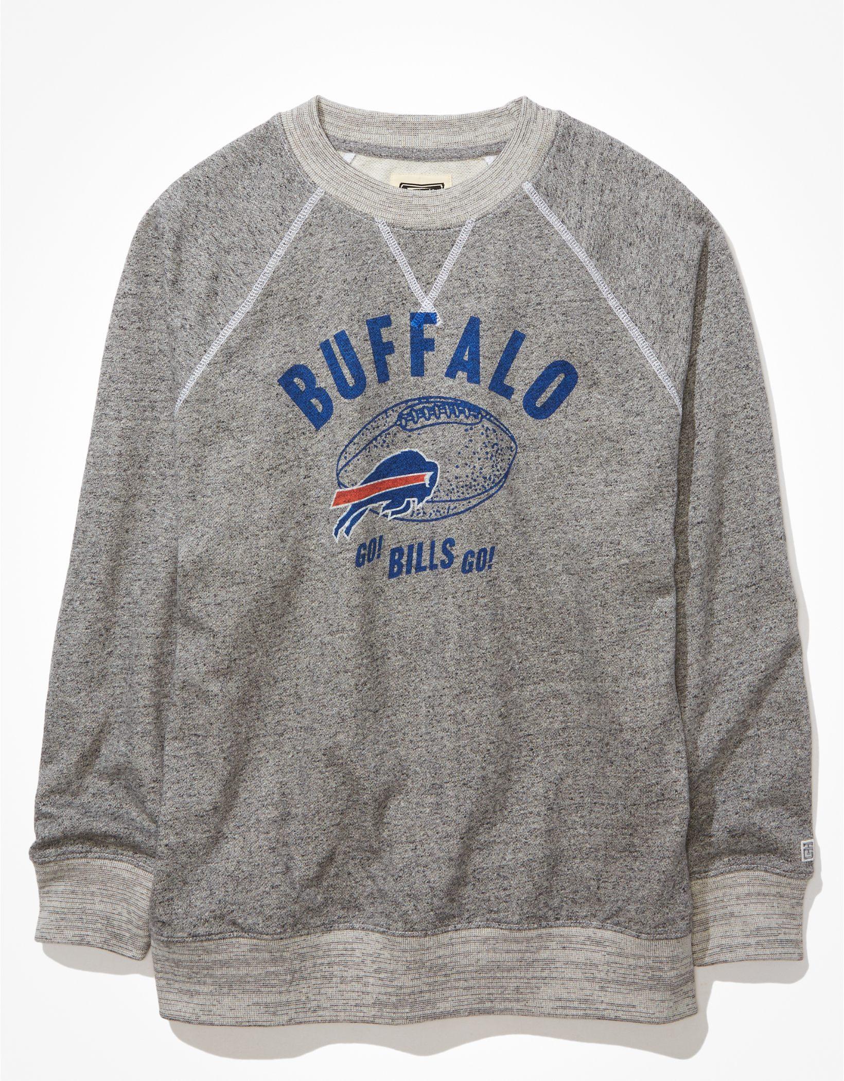 Tailgate Women's Buffalo Bills Oversized Fleece Sweatshirt