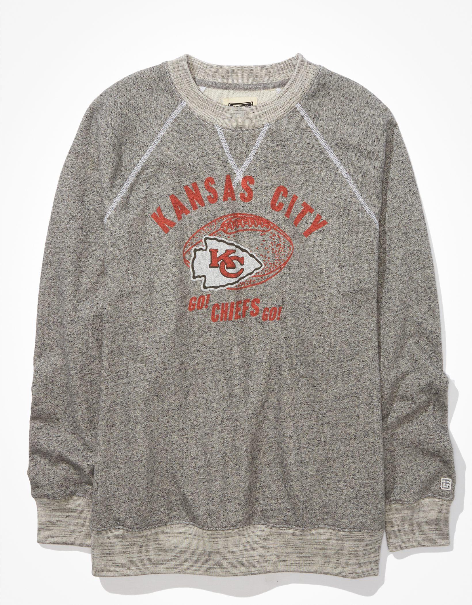 Tailgate Women's KC Chiefs Oversized Fleece Sweatshirt