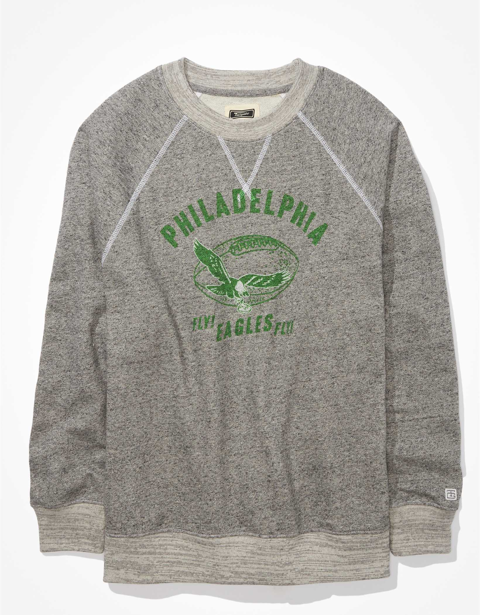 Tailgate Women's Philadelphia Eagles Oversized Fleece Sweatshirt