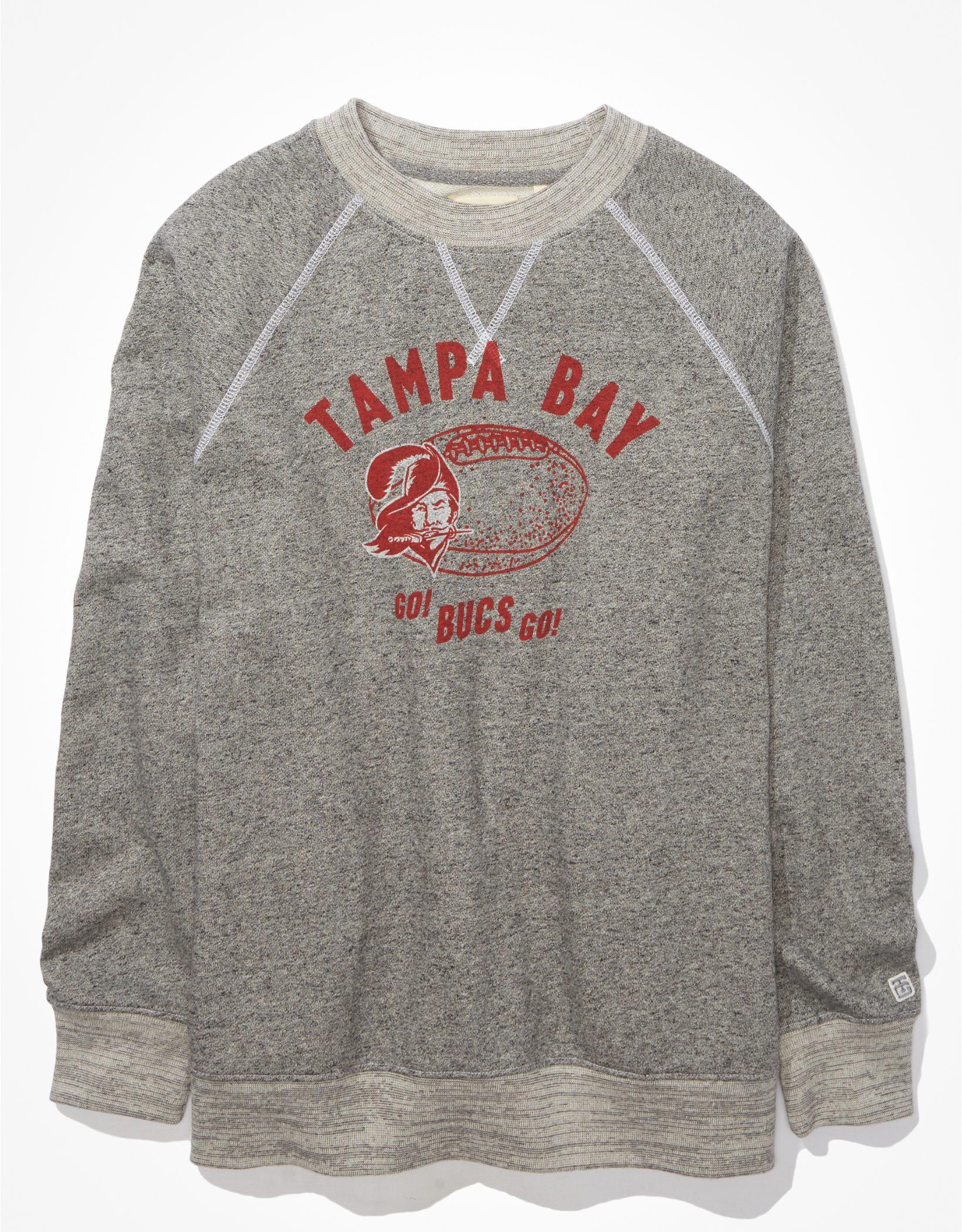 Tailgate Women's TB Buccaneers Oversized Fleece Sweatshirt