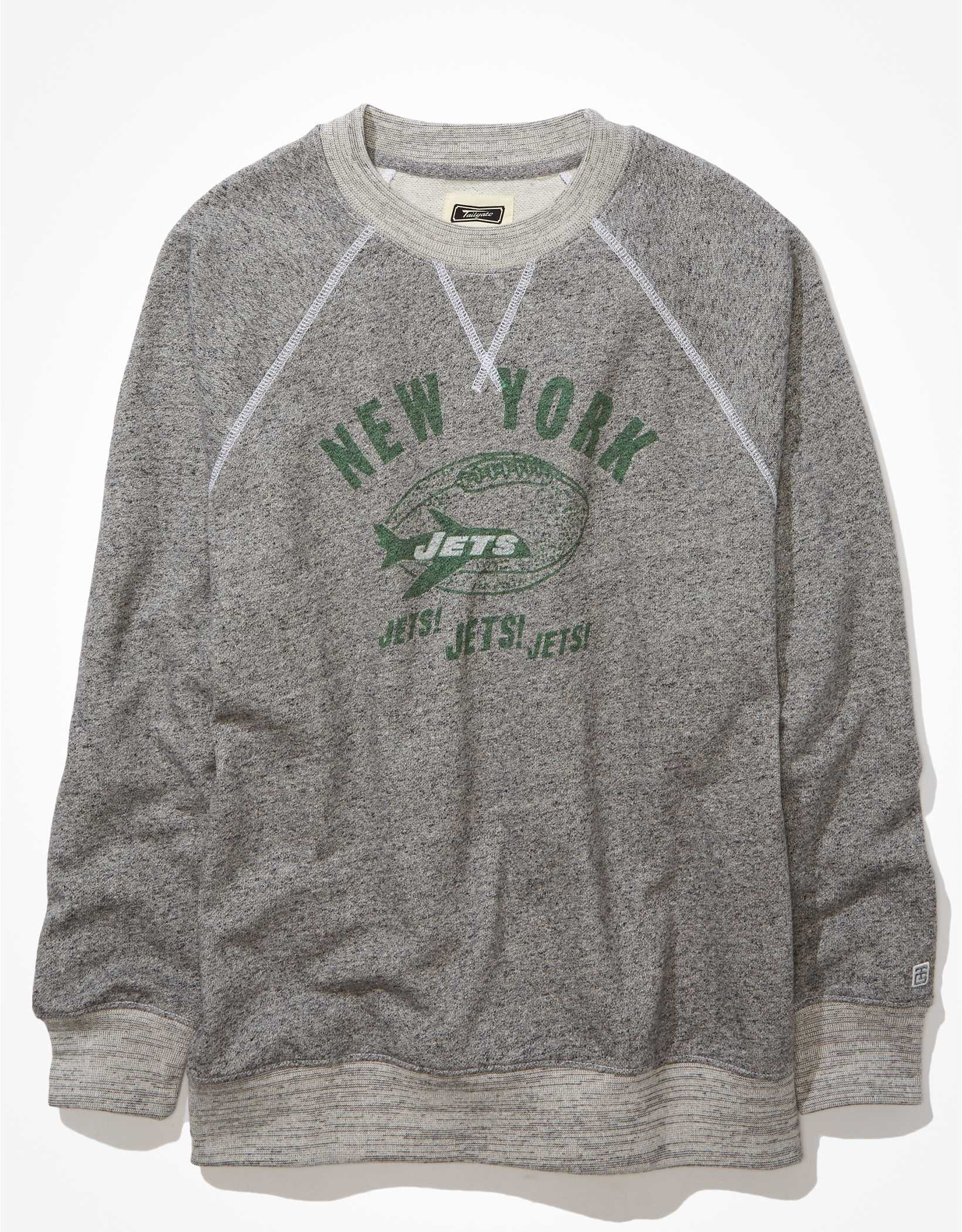 Tailgate Women's New York Jets Oversized Fleece Sweatshirt