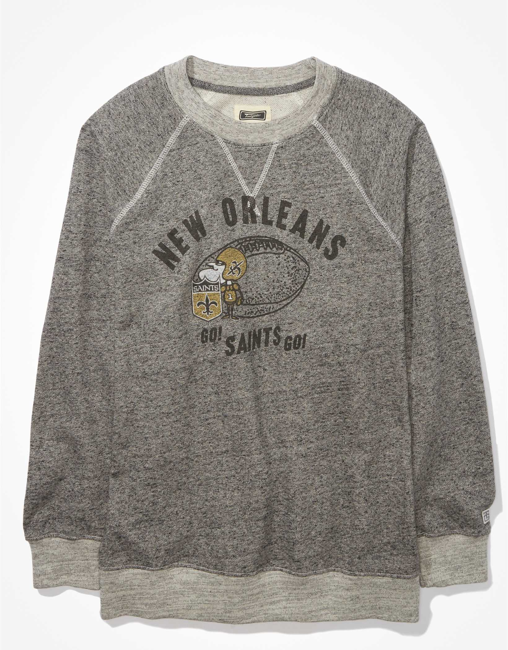 Tailgate Women's New Orleans Saints Oversized Fleece Sweatshirt