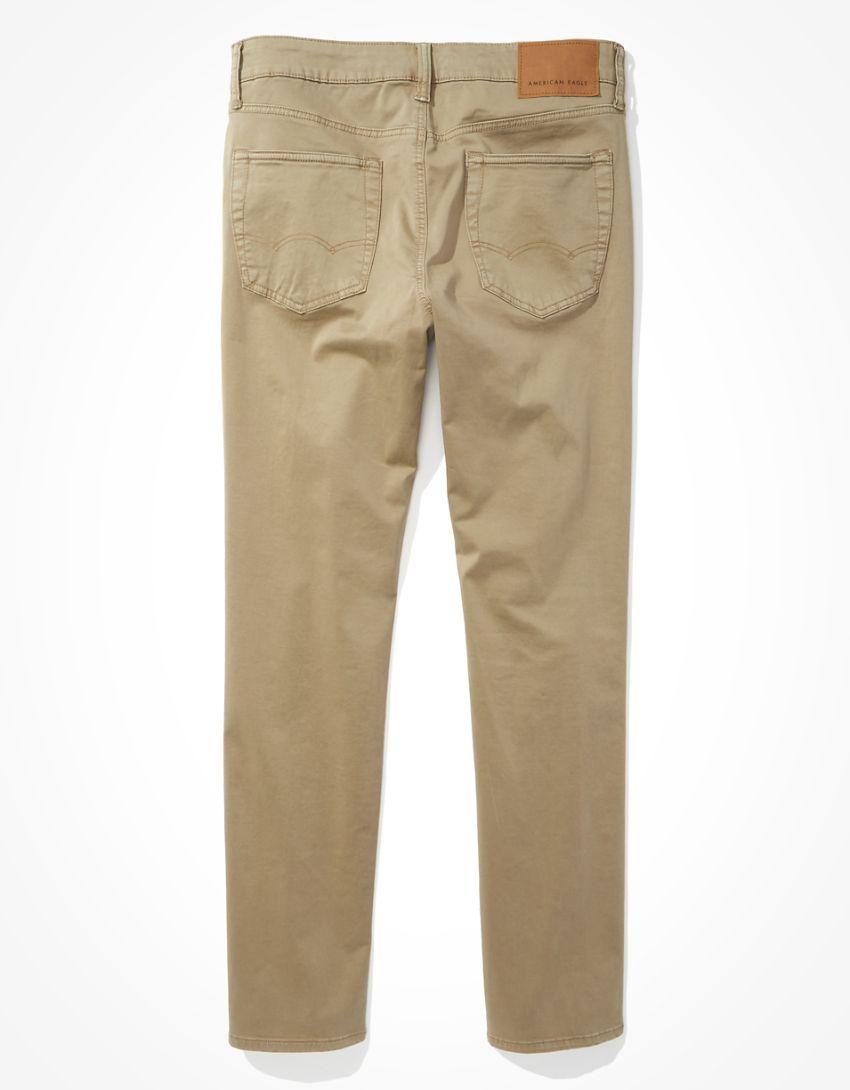 AE Flex Soft Twill Slim Straight 5-Pocket Pant