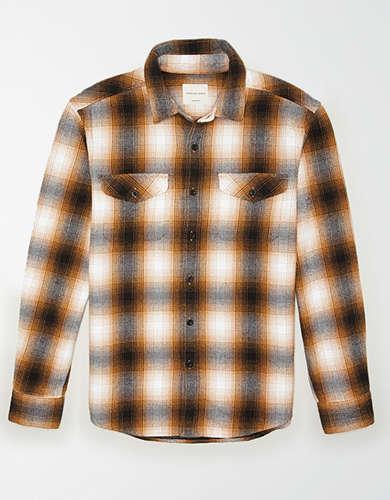 AE ソフトフランネルシャツ