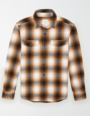 AE По-настоящему мягкая фланелевая рубашка