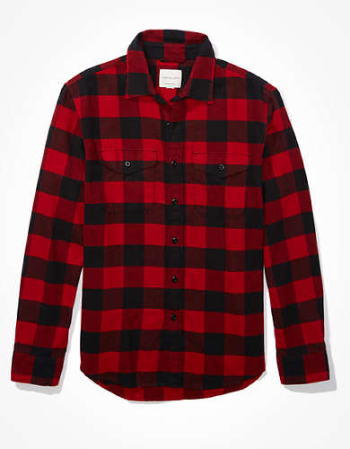 AE Super Soft Flannel Shirt