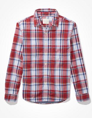 Супермягкая фланелевая рубашка AE Spring