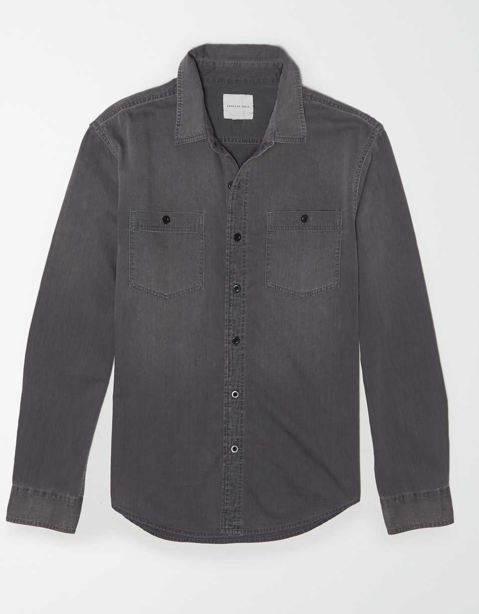 AE Denim Button Up Shirt