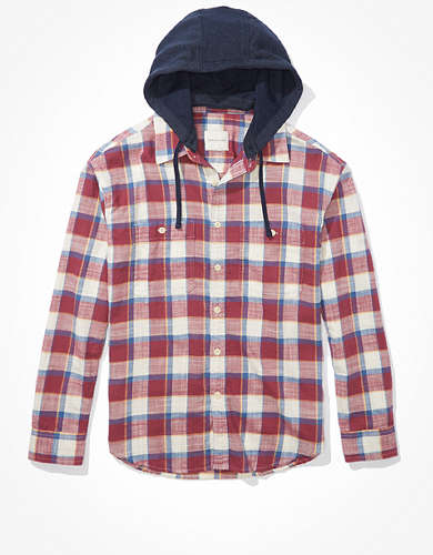 AE Super Soft Flannel Hoodie
