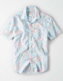 AE Short Sleeve Button Up Shirt