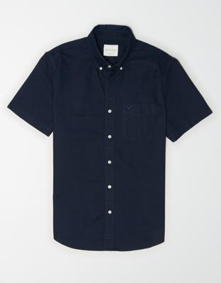AE Рубашка на пуговицах с коротким рукавом