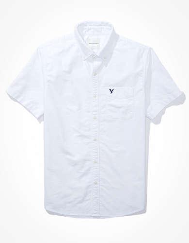 AE Oxford ショートスリーブ ボタンアップシャツ
