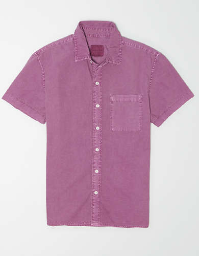 AE Oxford Short Sleeve Button Up Shirt