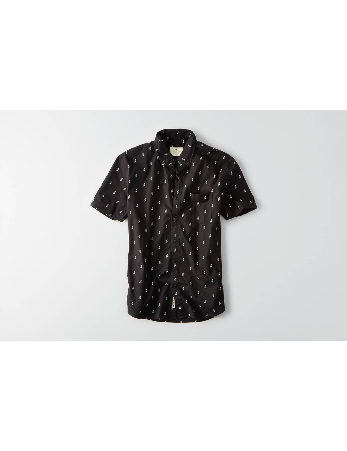 Shirt design on sleeve - Display Product Reviews For Aeo Short Sleeve Print Poplin Shirt