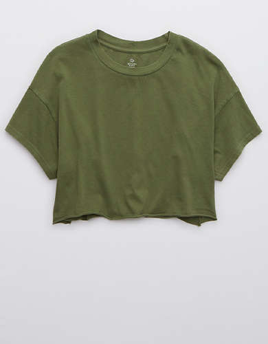 OFFLINE Raw Cut Cropped T-Shirt