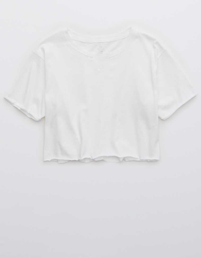 OFFLINE Cropped Crewneck T-Shirt