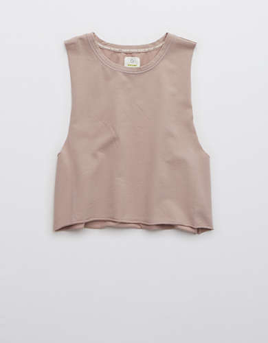 OFFLINE Terry Cropped Tank Top