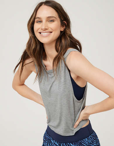 OFFLINE Twist Cropped Tank