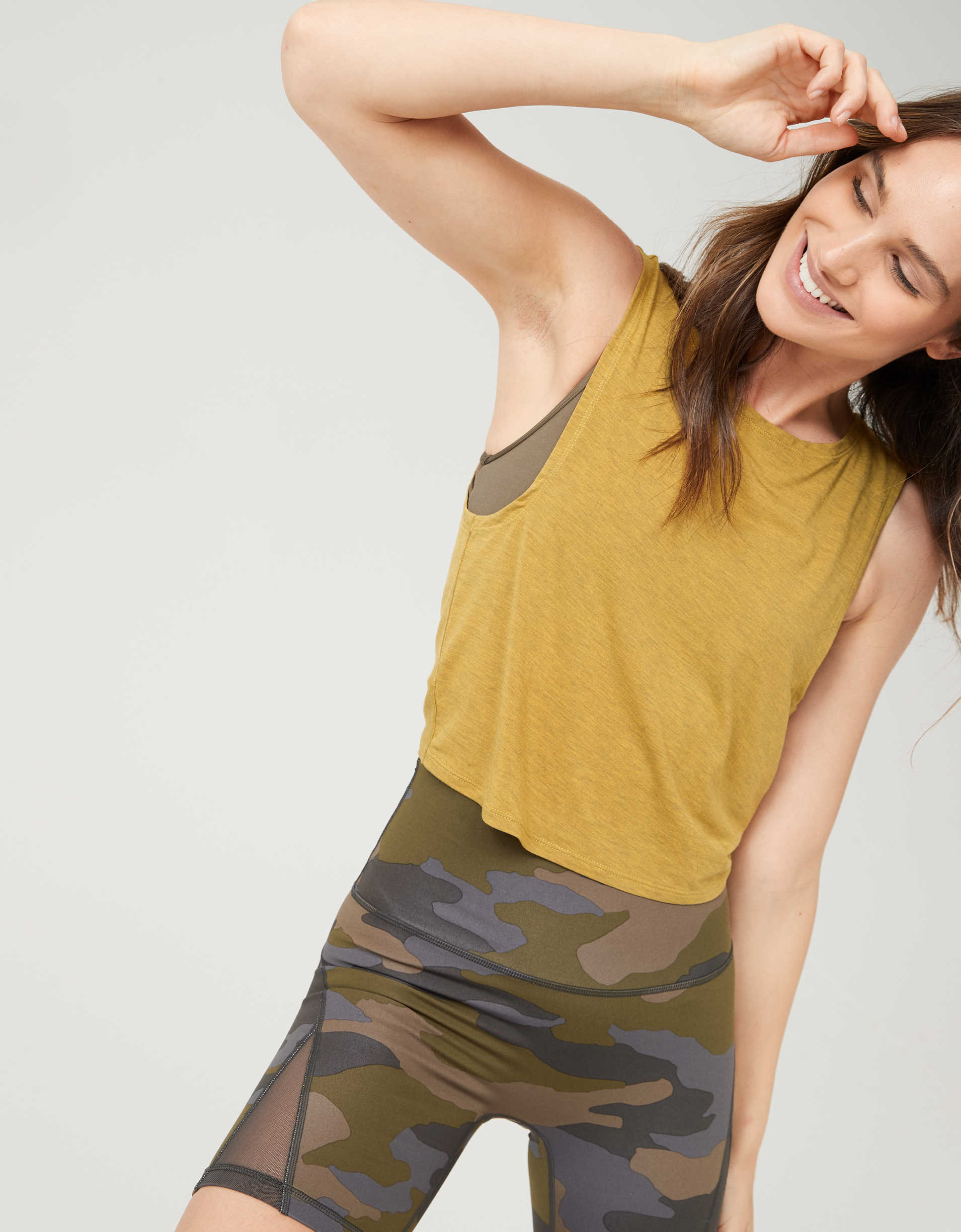 OFFLINE Twist Cropped Tank Top