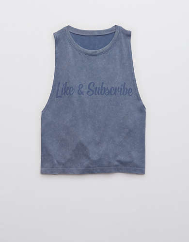 OFFLINE Seamless Graphic Tank Top