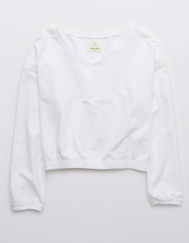 OFFLINE Fleece V Neck Sweatshirt