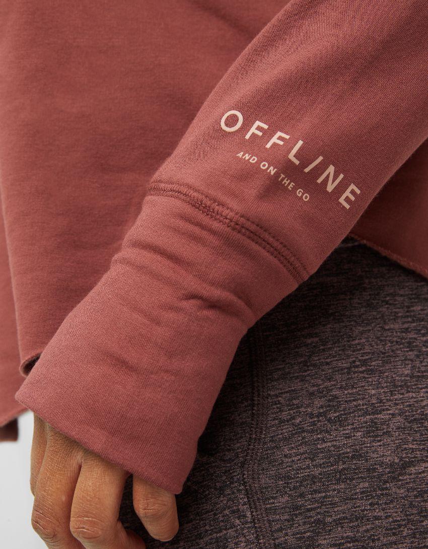 OFFLINE OTT Fleece Raw Cut Hoodie