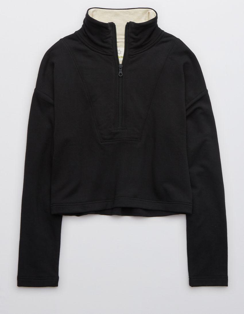 OFFLINE OTT Fleece Quarter Zip Sweatshirt