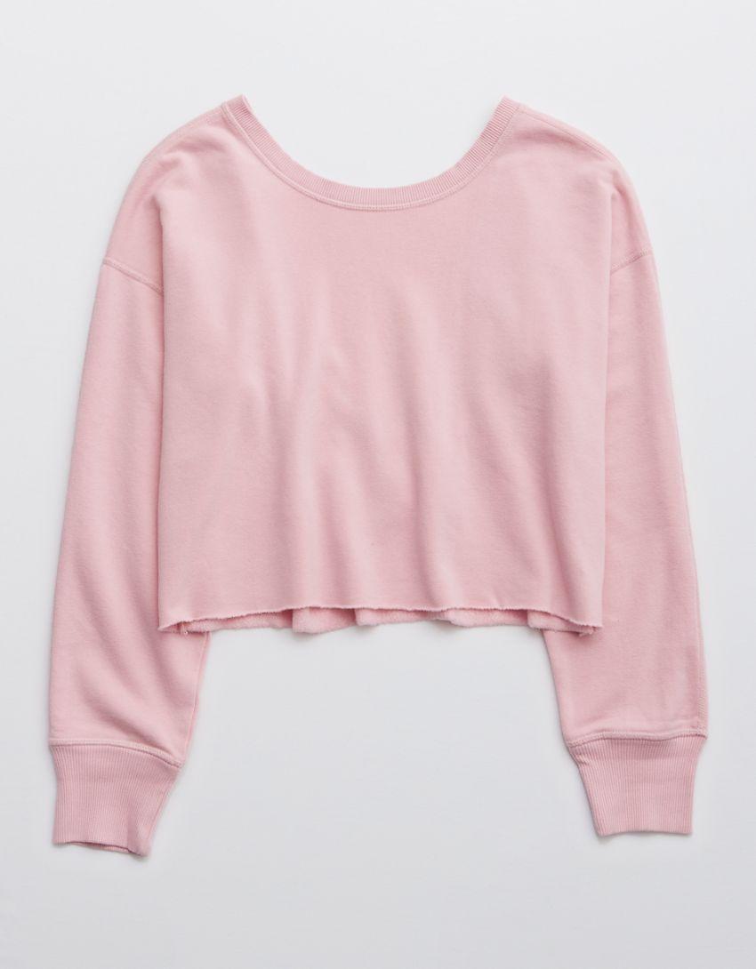 OFFLINE Open Back Sweatshirt