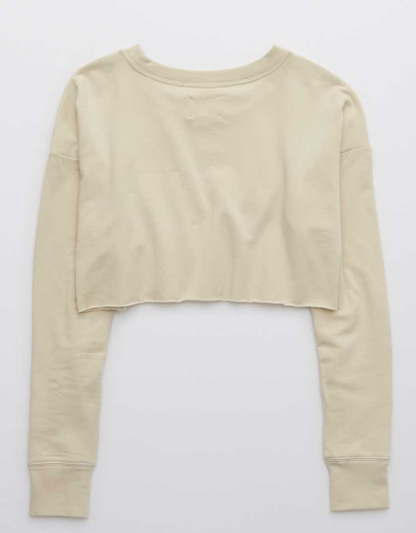 OFFLINE OTT Fleece Cropped Crewneck Sweatshirt