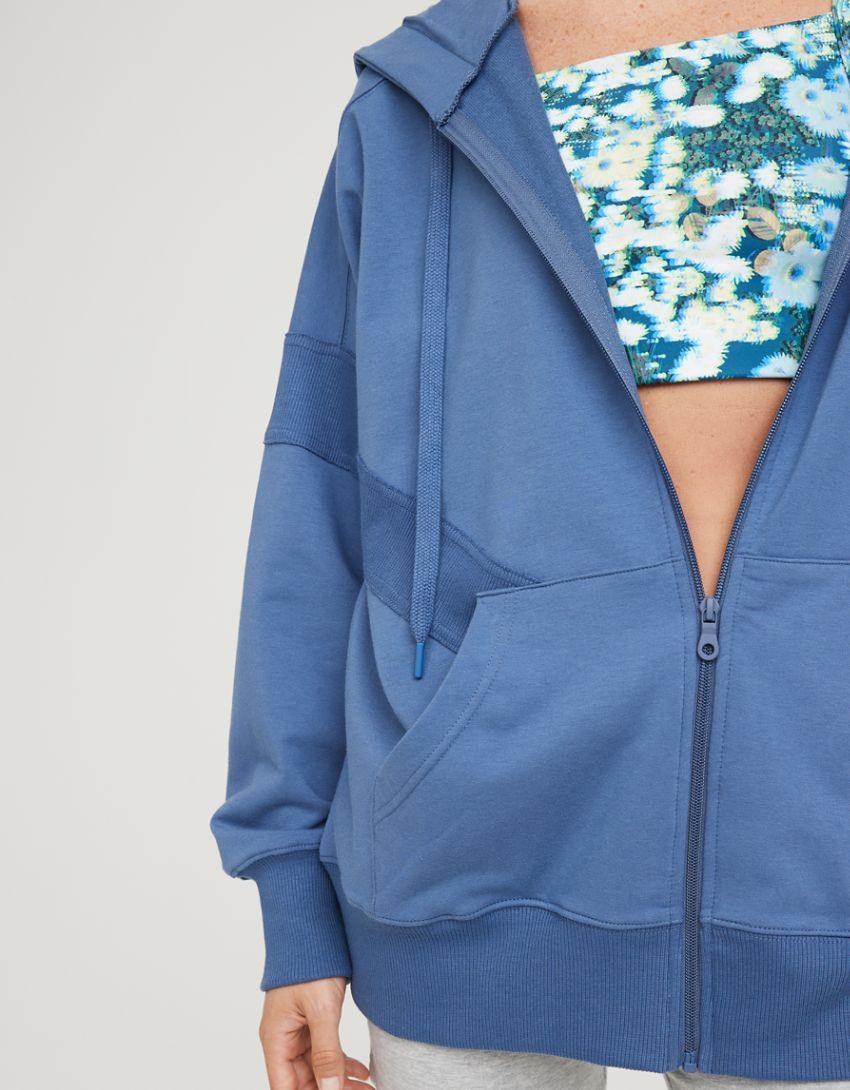 OFFLINE Terry Oversized Full Zip Hoodie