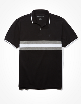 AE Striped Polo Shirt