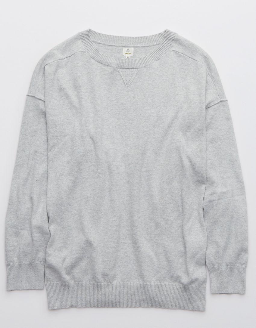 OFFLINE Oversized Crew Sweater
