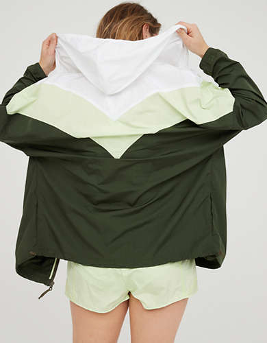 OFFLINE Nylon Colorblock Windbreaker