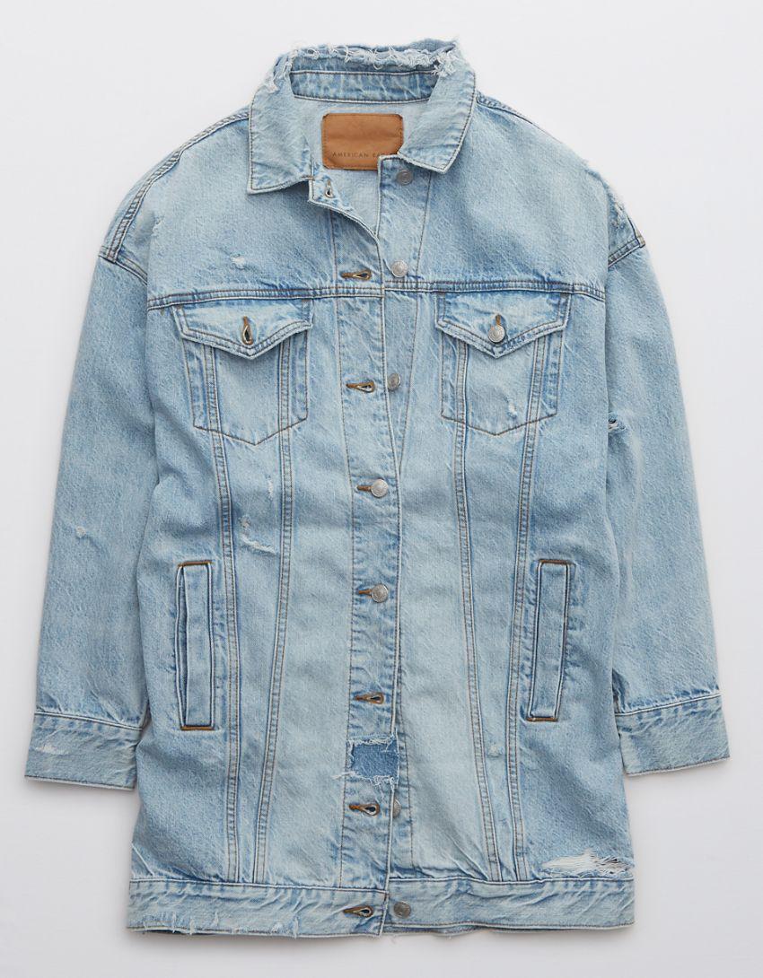 OFFLINE Oversized Boyfriend Denim Jacket