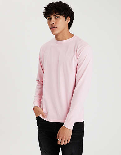 AE Super Soft Long-Sleeve Icon T-Shirt