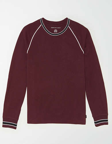 AE Long Sleeve Tipped T-Shirt