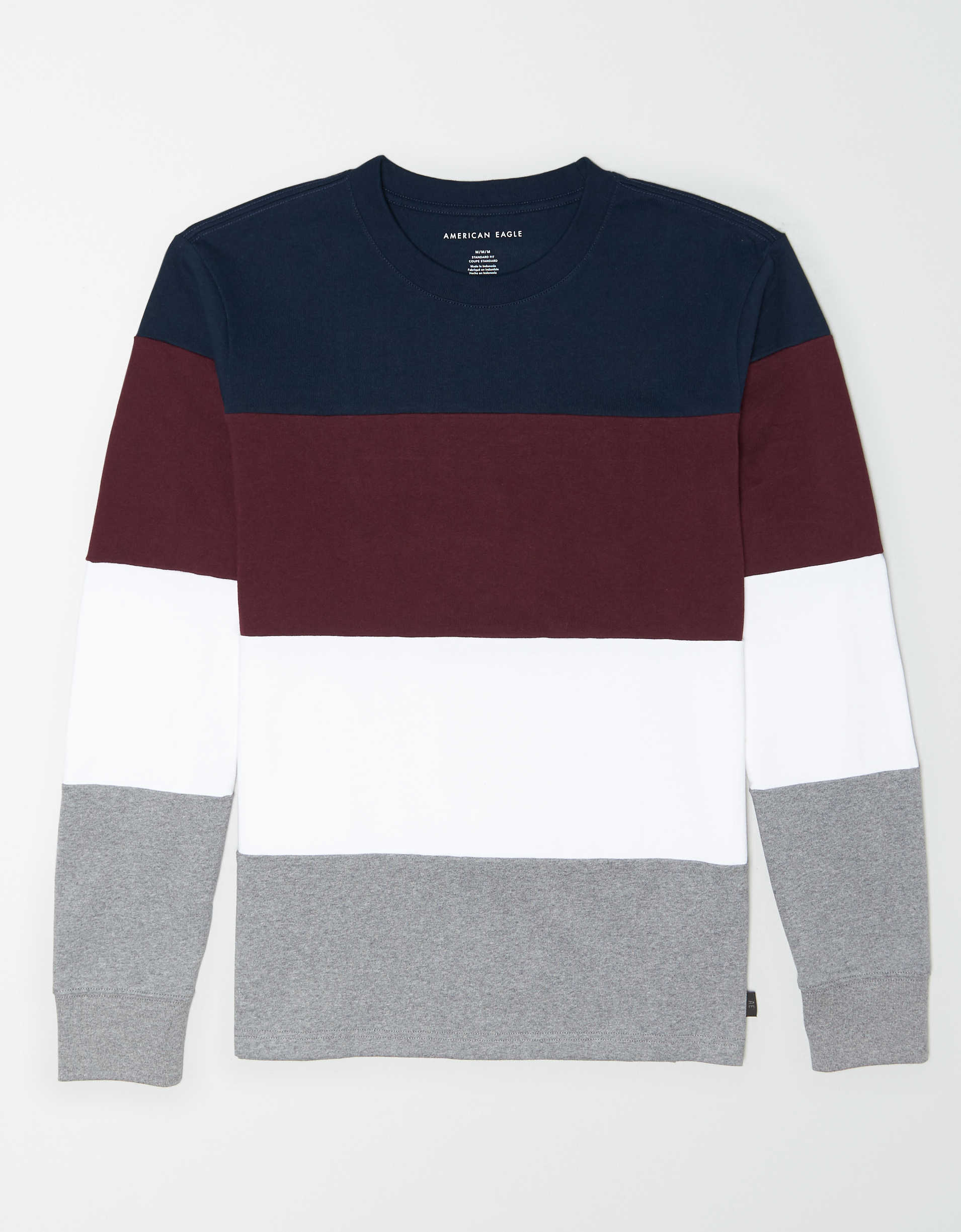 AE Long Sleeve Colorblock T-Shirt