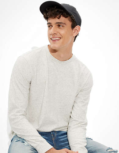 AE Super Soft Brushed Long Sleeve T-Shirt