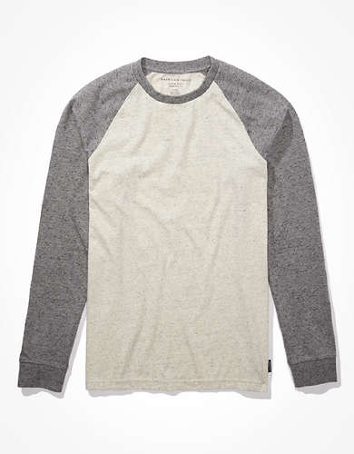 AE Long-Sleeve Super Soft Brushed T-Shirt