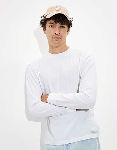 AE Super Soft Long Sleeve Brushed T-Shirt