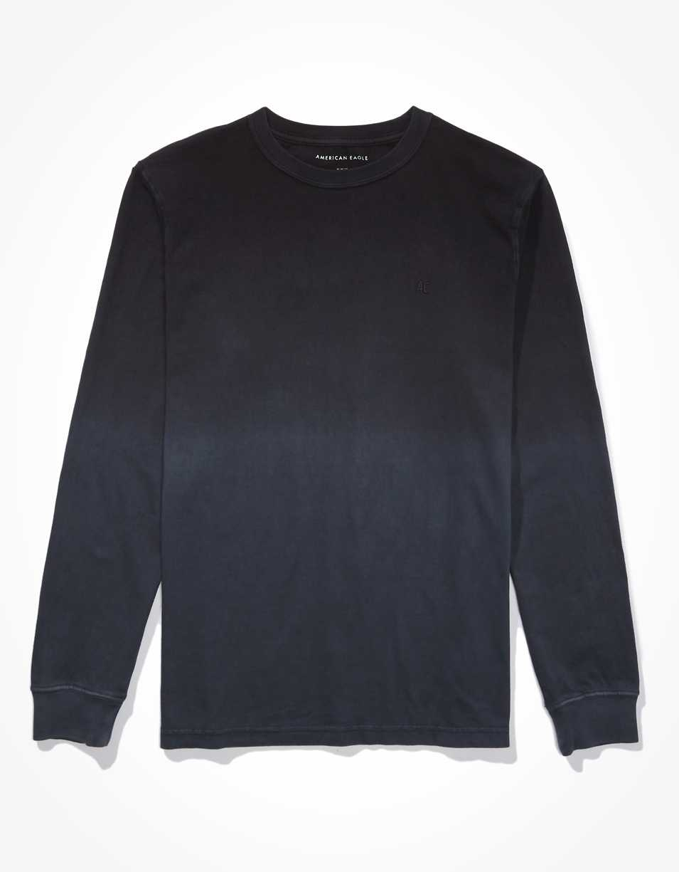 AE Super Soft Dip-Dye Long-Sleeve T-Shirt