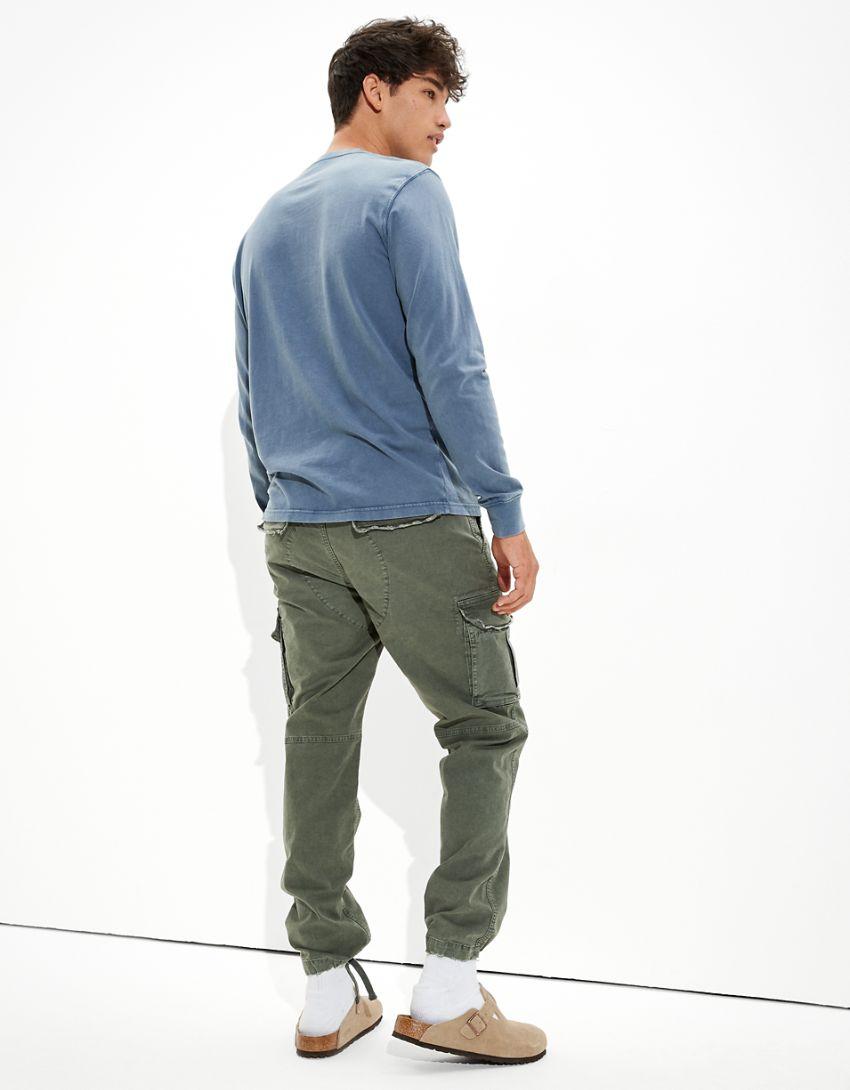 AE Super Soft Long-Sleeve Icon T-Shirt