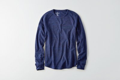 Flex Long Sleeve Pocket T-Shirt
